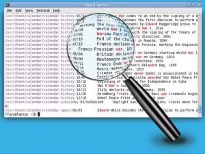 come cercare un testo in un file da riga comandi linux
